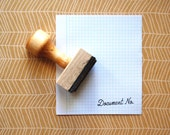 Document Number - Rubber Stamp