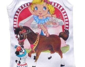 """Birthday Circus Childrens tshirt... """"Circus Act"""" girls birthday circus theme birthday tee shirt"""