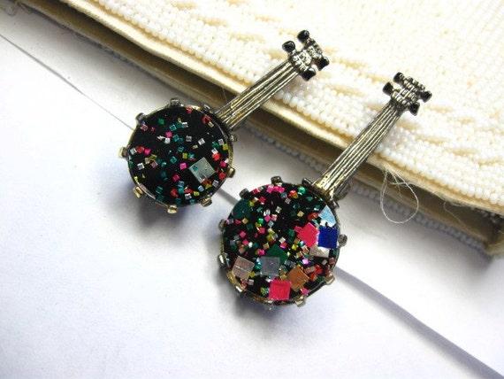 60s bango scatter brooch pins