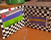 Green and Checkerboard Duck Brand Duct Tape Wallet