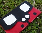 Lady Bug Wallet Women's Clutch Bright Red