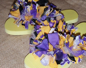 East Carolina University (ECU) Pirates Spirit Sandals/ Flip-Flops/ Slippers Women's Size 7/8