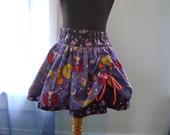 Final SALE Happy haunting peek-a-boo skirt, sizes 5T/6