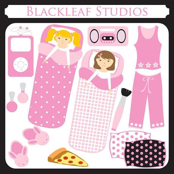 Slumber Party sleep over party sleeping bag pyjama party