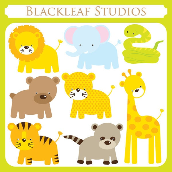 Baby forest animals clipart - photo#25
