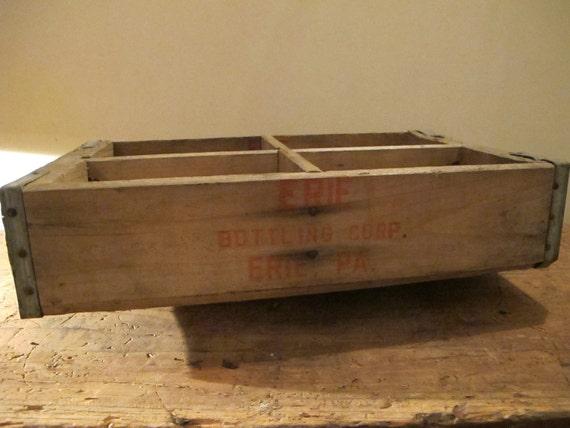 Vintage Wood Soda Crate