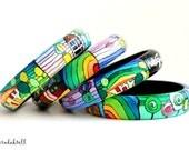 Four bracelets Hundertwasser