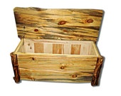 Wedding Guest Book Alternative Blanket Chest eco-friendly made furniture from Naturally Aspen