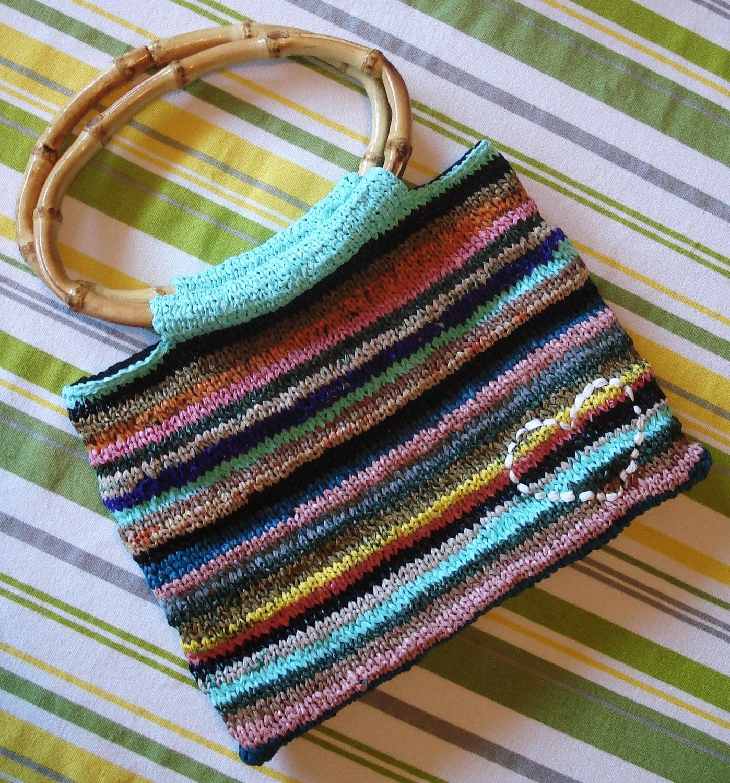 Knit Plarn Handbag
