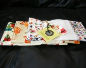 Holiday Burp Cloths, Halloween, Thanksgiving, Christmas Newborn Baby Shower Gift