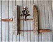 Industrial Metal Clamp // Wall Hanging