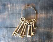 Brass Skeleton Key // Number One