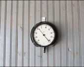 Large Industrial Gauge // Wall Hanging