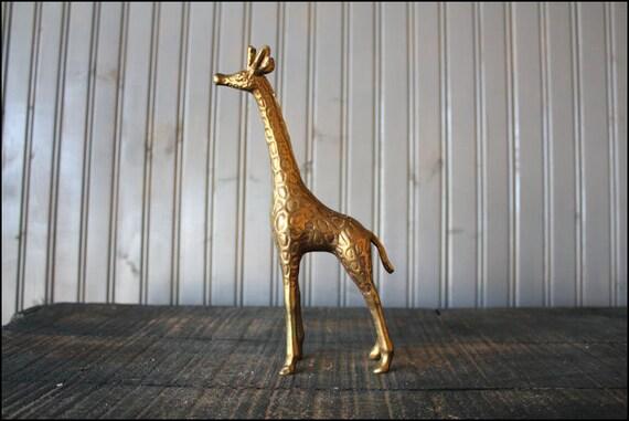 Brass Giraffe // Solid Brass