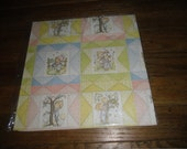Vintage Wrapping Paper New Betsey Clark Kids Patchwork
