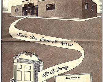 Vintage AMG Quality Products Catalog Spring, 1949 Featuring Tupperware - Before the Party Plan