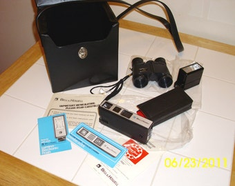 Bell and Howell 1976 110 Pocket Camera Plus Accessories, Very Retro
