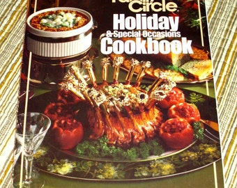 Family Circle Holiday Cookbook, 1982 Vintage Recipes