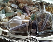 Custom Made - 48 Small Message In A Bottle Place Cards