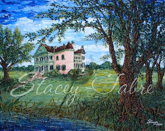 Southdown Plantation - matted to fit 8x10 - PRINT