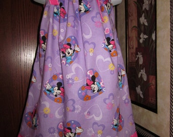 Custom Boutique Pillowcase Dress Disney Minnie Mouse