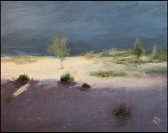 Original Landscape Painting - Pools
