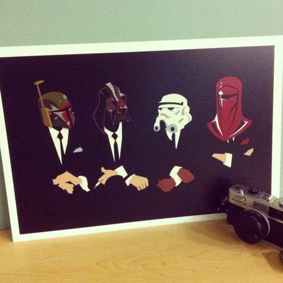 Star Wars The Womp Rat Pack Original Print