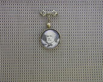 Robert E. Lee Portrait Pin