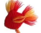 Catnip Toy - Organic Catnip Stuffed Fish Cat Toy - Blooper