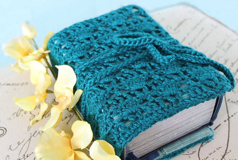 Book Cover Crochet Hook : Crochet pattern pdf instant download sewing book