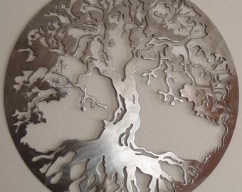 Tree Of Life, Metal Art, Wall Decor
