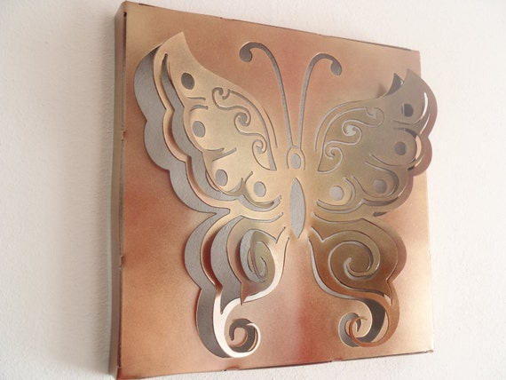 Items Similar To Butterfly, Wall Decor, Metal Art On Etsy