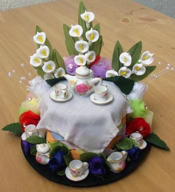 Alice in Wonderland Tea Party Mini Hat