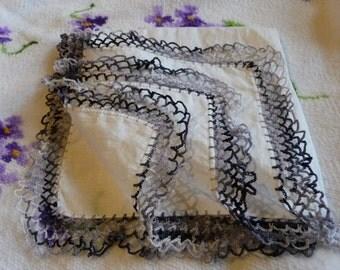 Vintage Crochet hankie Hanky