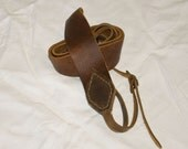 Handcrafted Leather Camera Strap