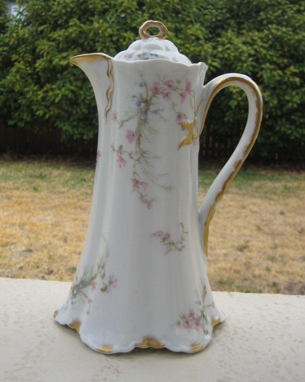 Antique Limoges Coffee Set