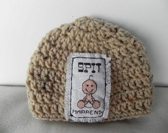 Embroidered Baby Hat INVENTORY REDUCTION SALE Ready to Ship!