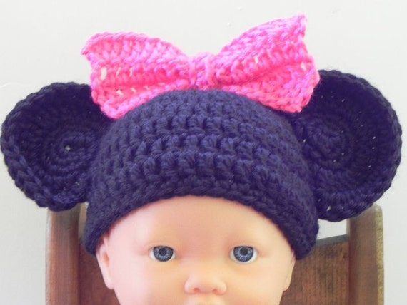 Infant  Minnie Mouse Beanie