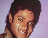 "Original Vintage ""Michael Jackson"" 1983 Poster"