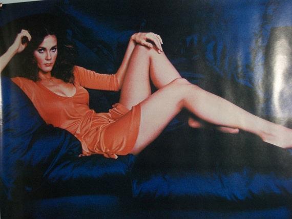"Original Vintage 1977 ""Lynda Carter"" Poster"