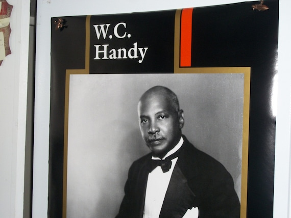 "1980s ""W.C. Handy"" Musician Original Poster"