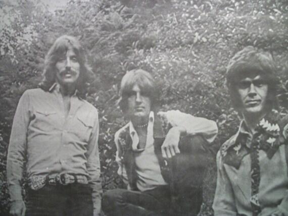 "Rock Band ""Three Dog Night"" Vintage Poster"
