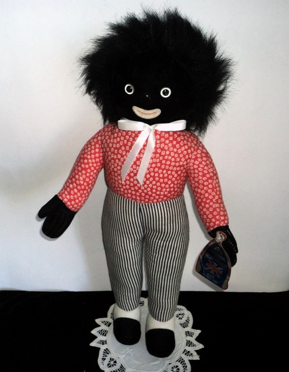 Black Americana Doll Merrythought Golliwog By Treasurecoveally
