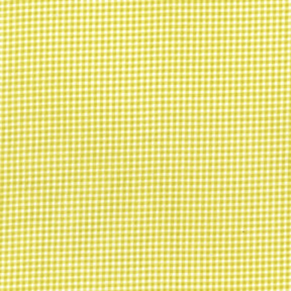 1 yard Citron Tiny Gingham by Michael Miller Fabrics