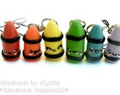 YOU PICK: Happy crayon keychains