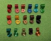 5 piece bails - colors