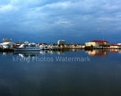 "Gulfport Harbor Panoramic Print - 6"" x 21"" (FREE Shipping in US)"