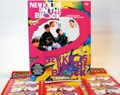 New Kids On The Block Unused Sticker Book and 25 Sticker Packs