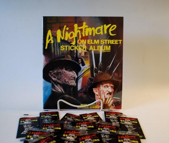 Nightmare On Elm Street Sticker Book w/10 Sticker Packs