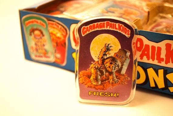 Zombie Garbage Pail Kids Button Fresh 1986